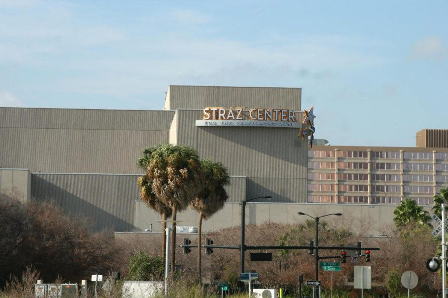 Straz center in Tampa. Photo taken from Wikimedia commons.