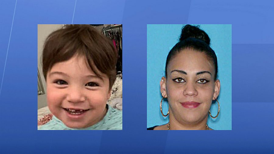 Jenzell Cintron Perez (left) was reportedly abducted by Sugey Perez Diaz, his mother (right) on October 8th.