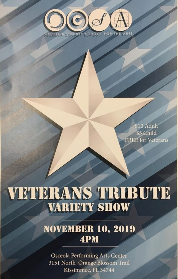 Come to the Veterans Showcase on November 10th!