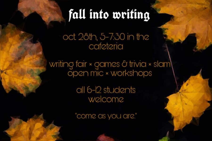 Fall into Writing this Fall!