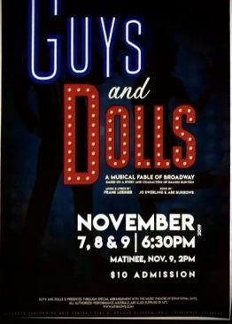 Guys and Dolls: Main Stage 2019