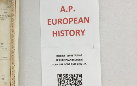 AP European History Class is Proposed for Next Year