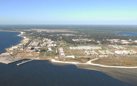 Naval Air Station Pensacola as seen in aerial view on August 14, 2012.