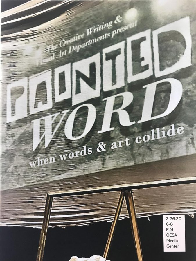 OCSA's annual Painted Word event will be held tomorrow, in the Media Center.