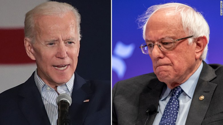 Democratic voters are now left with two candidates: former Vice President Joe Biden and Senator Bernie Sanders.