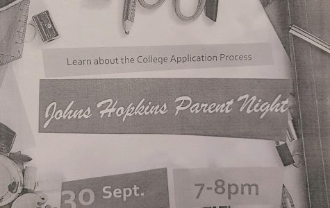 Students and parents of any grade will be able to attend the meeting for college information on the 30th of September.