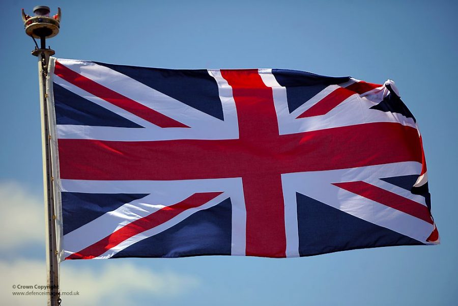 Image of the UK flag.