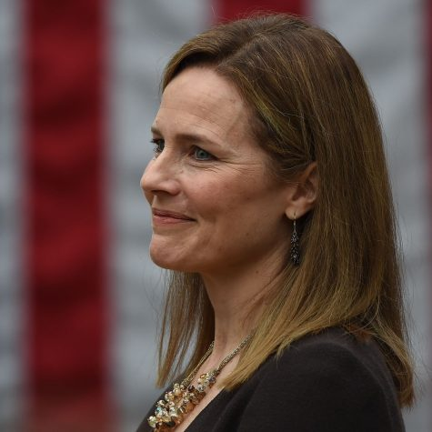 Image of Amy Coney Barrett taken from The Guardian