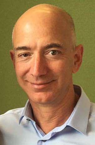 A picture of Jeff Bezos.