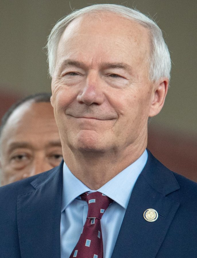 Asa Hutchinson, Governor of Arkansas.
