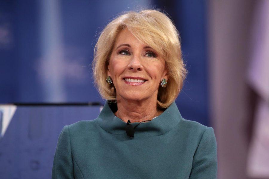 Betsy DeVos, former United States Secretary of Education.