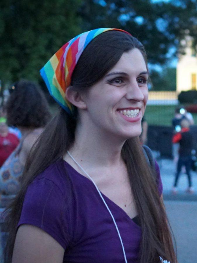 Delegate Danica Roem pictured above.