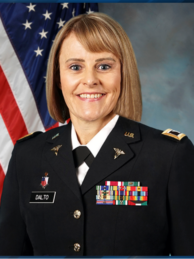 On Saturday, Charlene Dalto was promoted to brigadier general; she became the first woman in Utah history to do so.