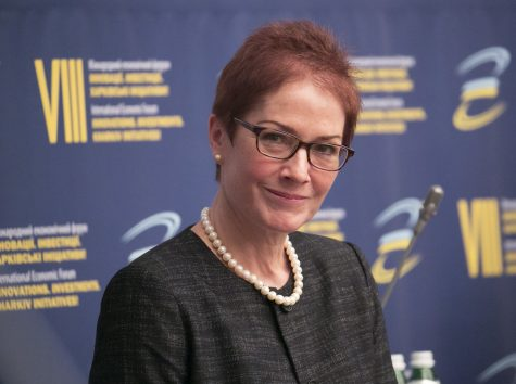 Marie Yovanovitch, former U.S. Ambassador to the Ukraine.