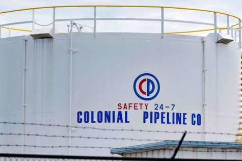 An image depicting the Colonial Pipeline, known as the victim of a cyber attack.